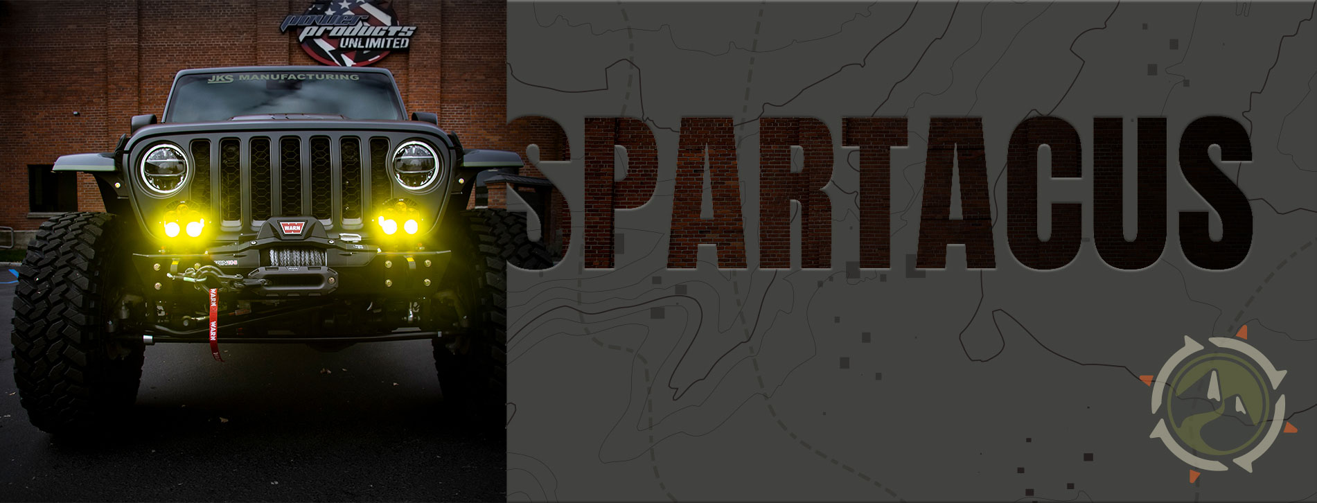 Spartacus - Jeep Gladiator Build with Hellcat Engine