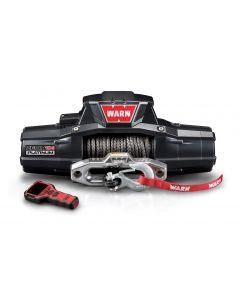 Warn Zeon 10-S Platinum with Synthetic  Rope