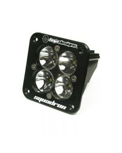Baja Designs Squadron Pro Flush Mount LED Light Clear Lens | Spot