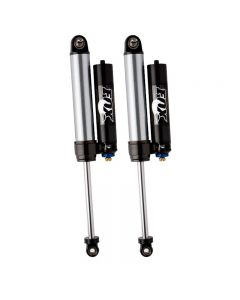 Fox 2.5 Factory Series Internal Bypass Piggyback Rear Shocks 07-15 Jeep JK With DSC Adjuster