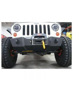 Nemesis Triumph Stubby Front Bumper 07-15 Jeep JK