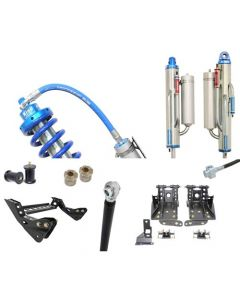 Carli 4.5in King Coilover 2.5 Bypass Suspension System 05-07 6.0L Ford Powerstroke