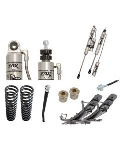 Carli 2.5in Leveling Backcountry 2.0 Suspension System 08-10 6.4L Ford Powerstroke Kit Including Rear Add-A-Packs