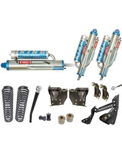 Carli 4.5in Unchained 3.0 Bypass Suspension System 05-07 6.0L Ford Powerstroke