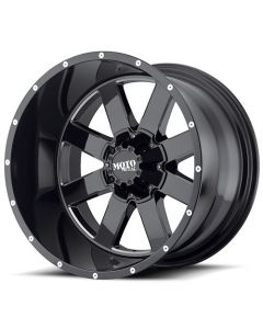Moto Metal MO962 Gloss Black w/ Milled Accents Wheel
