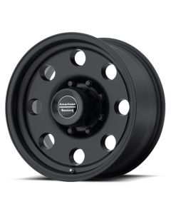 "American Racing AR172 Baja Black Wheel 16"" x 8"" 8x6.5 Bolt Pattern"