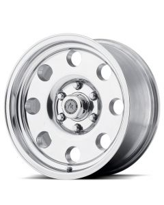 "American Racing AR172 Baja Polished Wheel 17"" x 8"" 8x6.5 Bolt Pattern"