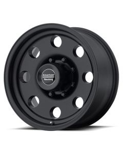 "American Racing AR172 Baja Black Wheel 17"" x 8"" 8x6.5 Bolt Pattern"