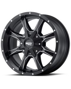 "Moto Metal MO970 Satin Black Milled Wheel 20"" x 9"" 8x180 Bolt Pattern"