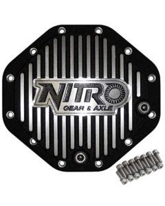 """Nitro Finned Aluminum Rear Differential Cover Chrysler 9.25"""" 12-Bolt"""