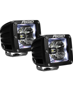 Rigid Industries LED Pod with White Backlight Radiance