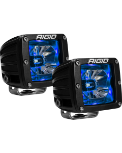 Rigid Industries LED Pod with Blue Backlight Radiance