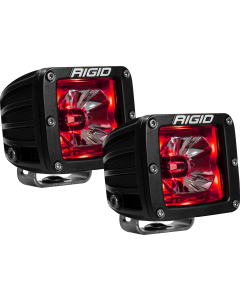 Rigid Industries LED Pod with Red Backlight Radiance