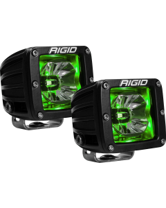 Rigid Industries LED Pod with Green Backlight Radiance