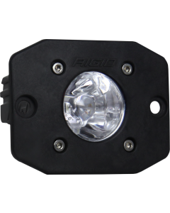 Rigid Industries Spot Black Flush Mount Ignite