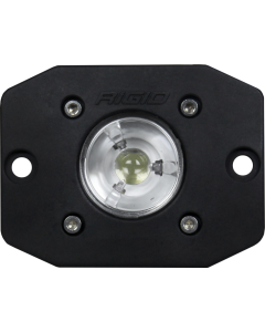 Rigid Industries Flood Black Flush Mount Ignite