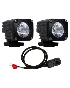 Rigid Industries Spot Motorcycle Kit High/Low Ignite