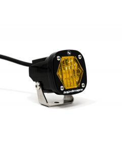 Baja Designs S1 - Amber Wide Cornering LED - Single