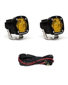 Baja Designs S1 - Amber Wide Cornering LED - Pair / Kit