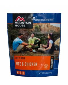 Mountain House - Rice and Chicken Pouch