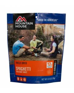 Mountain House - Spaghetti with Meat Sauce Pouch