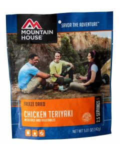 Mountain House - Chicken Teriyaki with Rice Pouch
