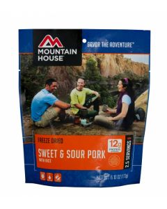 Mountain House - Sweet and Sour Pork with Rice Pouch