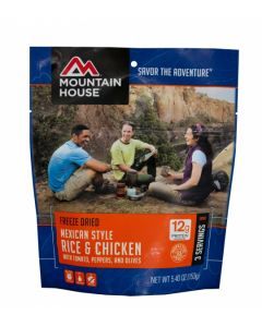 Mountain House - Mexican Style Rice and Chicken Pouch