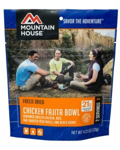 Mountain House - Chicken Fajita Bowl Pouch