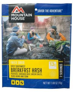Mountain House - Spicy Southwest Breakfast Hash Pouch