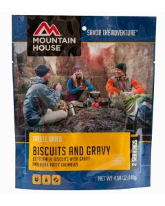 Mountain House - Biscuits and Gravy Pouch