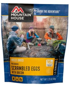 Mountain House - Scrambled Eggs with Bacon Pouch