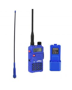 Rugged Radios RH-5R, Ducky Antenna, and Extended Battery Pack Kit