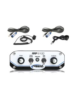 Rugged Radios 6100 2 Place Race Intercom System