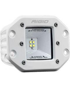 Rigid Industries 2x2 115 Degree DC Power Scene Light White Housing Flush Mount