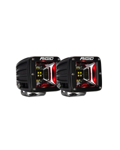 Rigid Industries Scene Red Backlight Surface Mount Pair Radiance