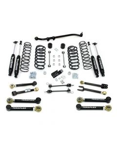 "TeraFlex TJ 3"" Lift Kit with 8 FlexArms and Trackbar With 9550 Shocks"