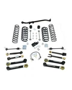 "TeraFlex TJ 4"" Lift Kit With 8 Lower Flex Arms and Trackbar No Shocks TJ 4"""