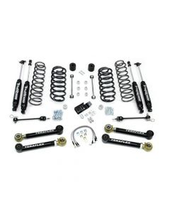 "TeraFlex TJ 4"" Lift Kit with 4 Arms, 9550 Shocks 4"" Lift Kit"