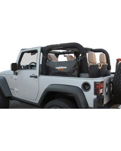Rightline Gear Side Storage Bags - 2007-2018 Jeep JK (2 Door)