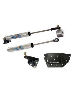 Carli Suspension Opposing Stainless Steering Stabilizer Kit 03-13 Ram HD Y-Style Steering - Stock Height