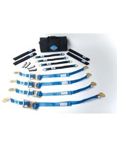 "Mac's Pro Pack 6 Foot Tie-Downs With 24"" Axle Straps"