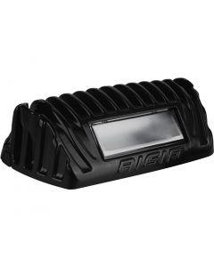 Rigid Industries 1x2 65 Degree DC Power Scene Light Amber LED Black Housing