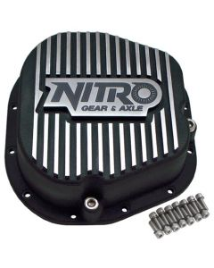 Nitro Finned Aluminum Differential Cover Ford 10.25"