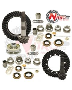 Nitro Ring and Pinion Complete Package Toyota Lancruiser 80 Series With E-Locker