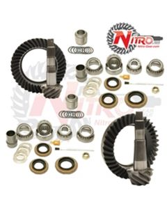 Nitro Ring and Pinion Complete Package Toyota Lancruiser 100 Series With E-Locker