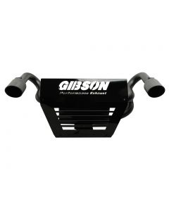 Gibson Performance Exhaust - 2014 RZR XP1000 and XP4 1000 (Non Turbo) - Slip On Muffler, Dual Exhaust, Black Ceramic