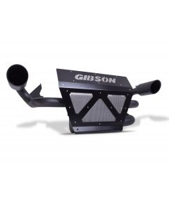 Gibson Performance Exhaust - 2018 Polaris RZR XP1000 and XP4 1000 (Non-Turbo) - Slip On Muffler, Dual Exhaust, Black Ceramic