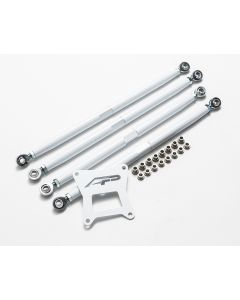 Adjustable Rear Radius Arms White Polaris RZR 1000 XP Turbo Agency Power