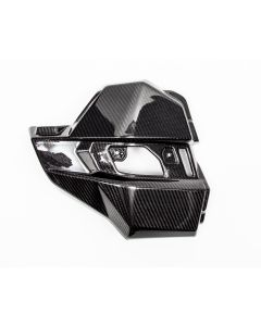 Agency Power Carbon Fiber Side Engine Cover - 2017-2018 Can-Am Maverick X3 Turbo